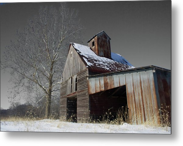 Frozen Letcher Metal Print