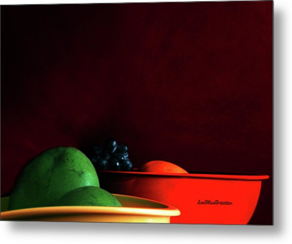 Fruit Art Photograph Metal Print