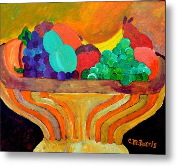 Fruit Bowl 1 Metal Print