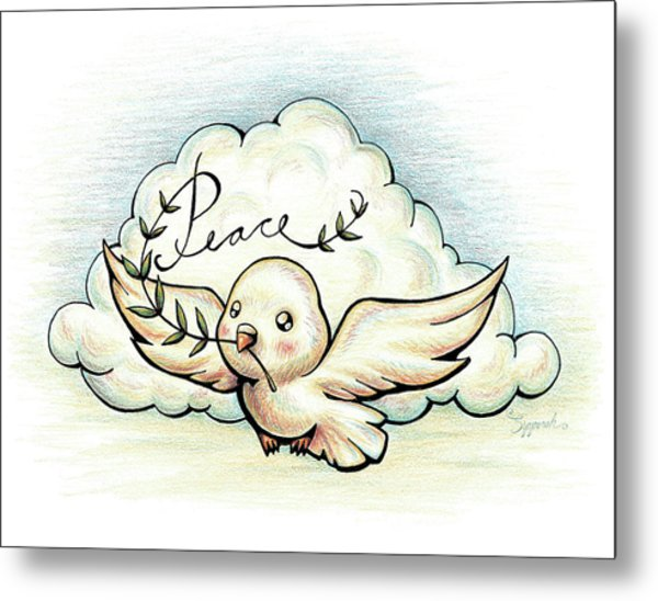 Fruit Of The Spirit Peace Metal Print