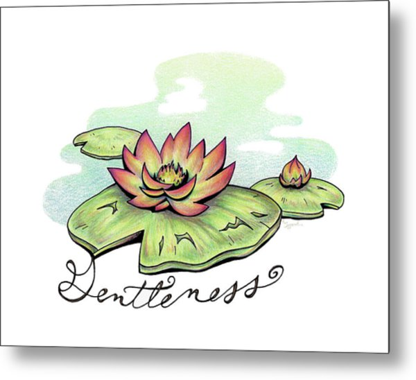 Fruit Of The Spirit Series 2 Gentleness Metal Print