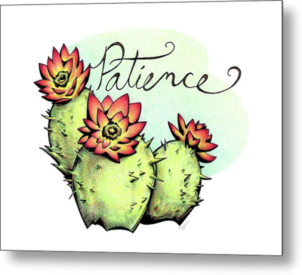 Fruit Of The Spirit Series 2 Patience Metal Print