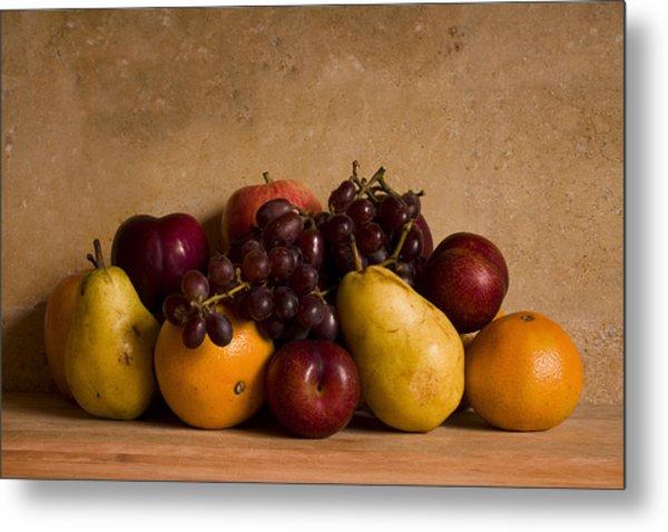 Fruit Still Life Metal Print