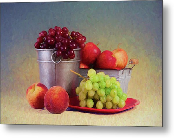 Fruits On Centerstage Metal Print