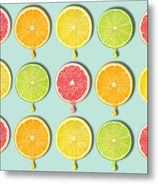 Fruity Metal Print