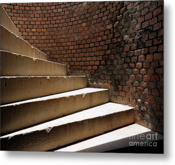 Ft. Taylor Stairs Metal Print