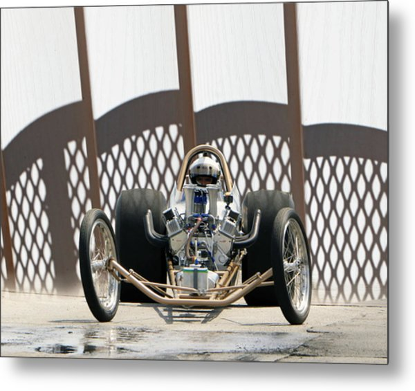 Full Frontal Slingshot Metal Print