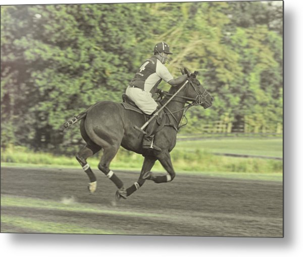 Full Gallop Pony Metal Print by JAMART Photography