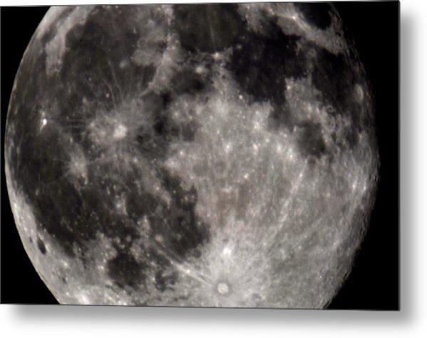 Full Moon 7-31-15 Metal Print