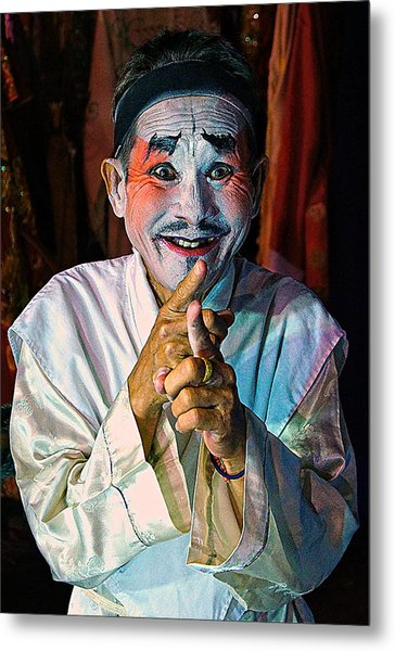 Fun At The Opera Metal Print