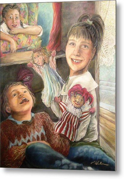 Funny Story - Histoire Drole Metal Print