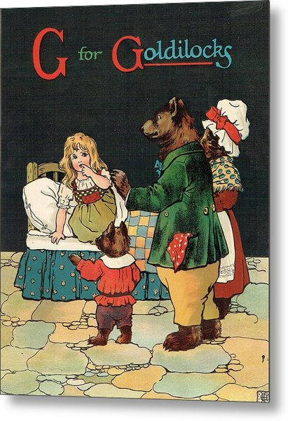 G For Goldilocks Metal Print