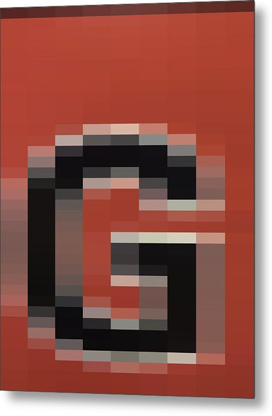 G - Context Series - Limited Run Metal Print by Lars B Amble