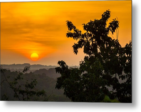 Gainesville Sunrise Metal Print