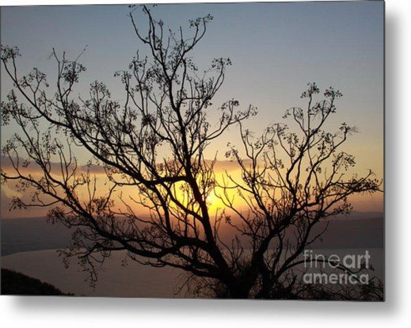 Galilee Sunset Metal Print