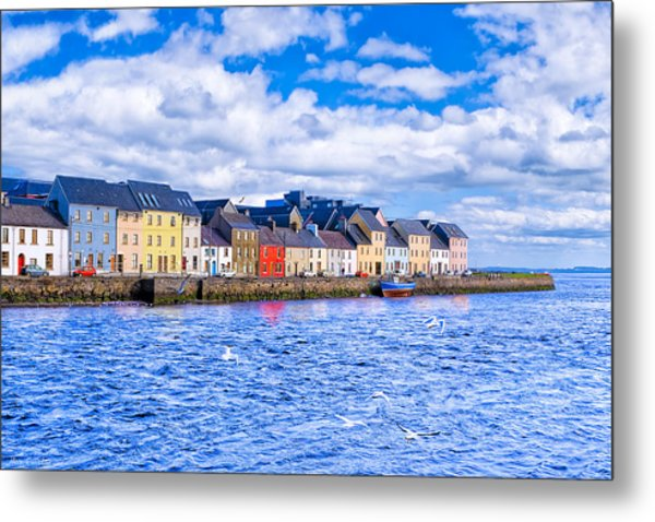 Galway On The Water Metal Print