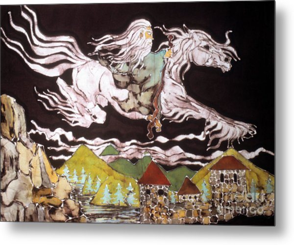 Gandalf And Shadowfax Metal Print