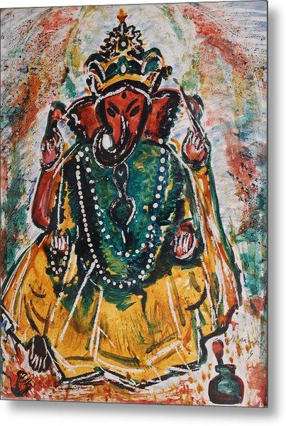 Ganesha-2 Metal Print
