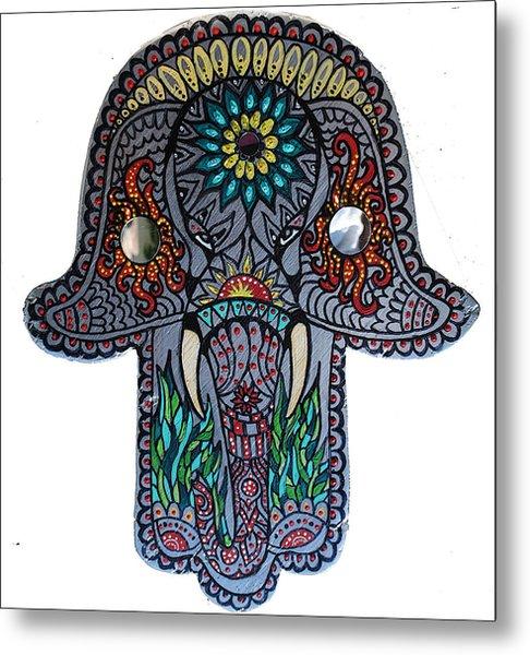 Ganesha Hamsa Metal Print