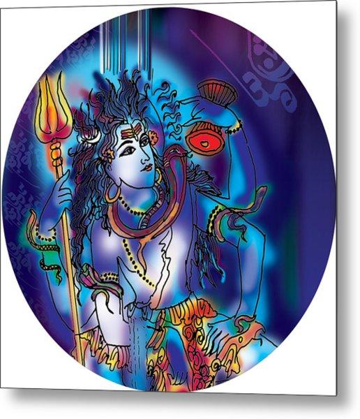 Gangeshvar Shiva Metal Print