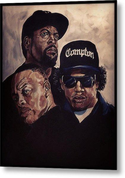 Gangsta Trinity Metal Print