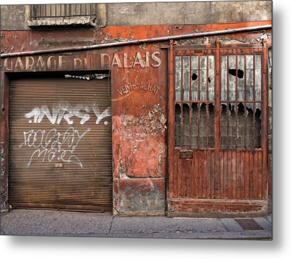 Garage Du Palais Metal Print