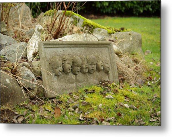 Garden Babies II Metal Print