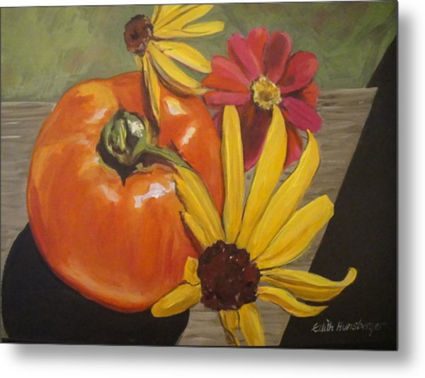 Garden Goodies Metal Print