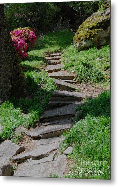 Garden Path Metal Print