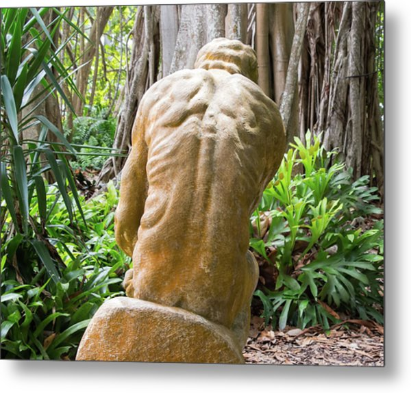 Garden Sculpture 1 Metal Print