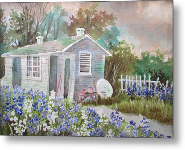 Garden Shed Two Metal Print