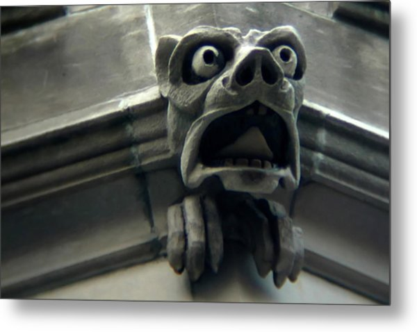 Gargoyle Metal Print by David April
