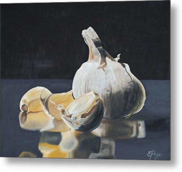 Garlic I Metal Print