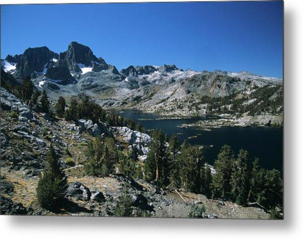 Garnet Lake And Banner Peak Metal Print