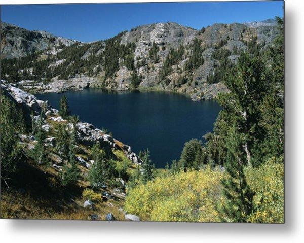 Garnet Lake Fall Color Metal Print