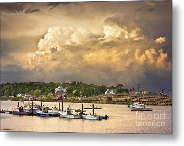 Garrison Cove Thunderstorm Metal Print