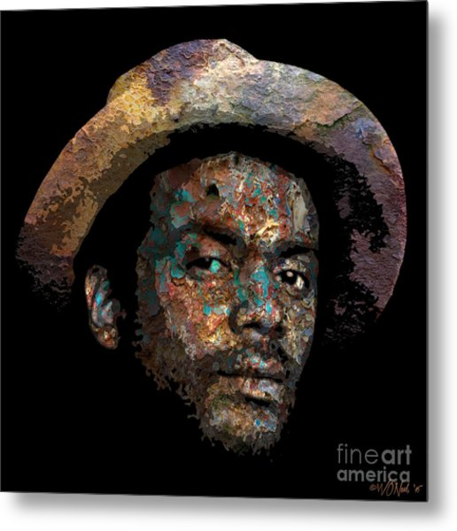 Gary Clark, Jr. No. 2 Metal Print