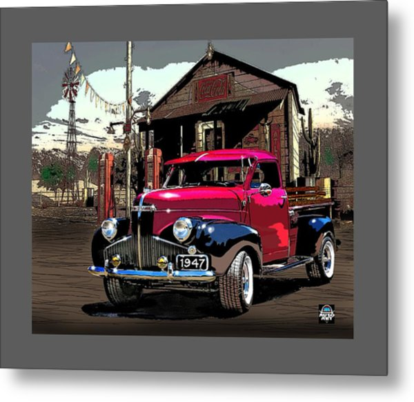 Gassed Up And Ready Metal Print