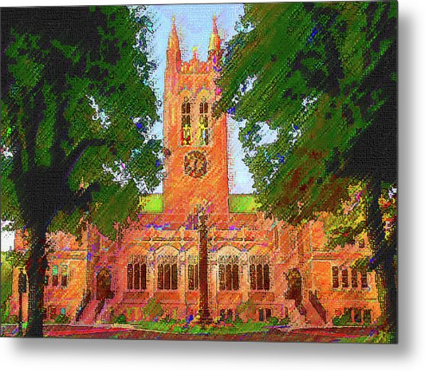 Gasson Hall  Metal Print