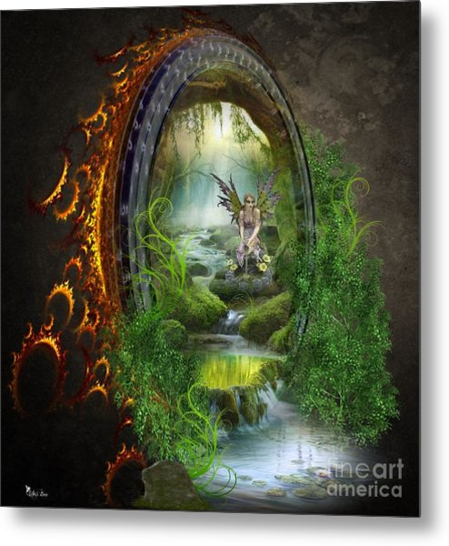 Gate To Another World Metal Print