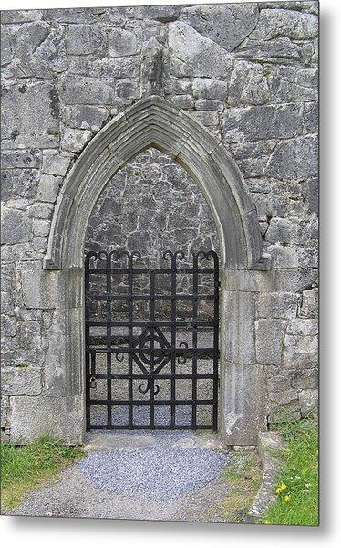 Gate To Irish Castle Metal Print