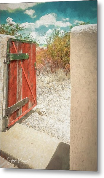 Gate To Oracle Metal Print