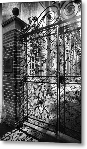 Gate To St. Michaels Metal Print
