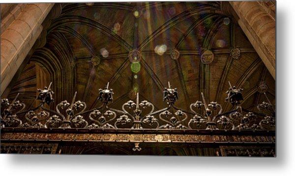 Gate To The Holy Spirit Chapel Metal Print