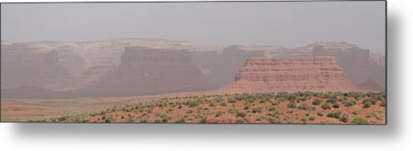 Gateway To Valley Of The Gods Metal Print by Gregory Jeffries