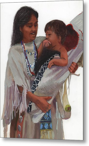 Gathered Tenderness Metal Print