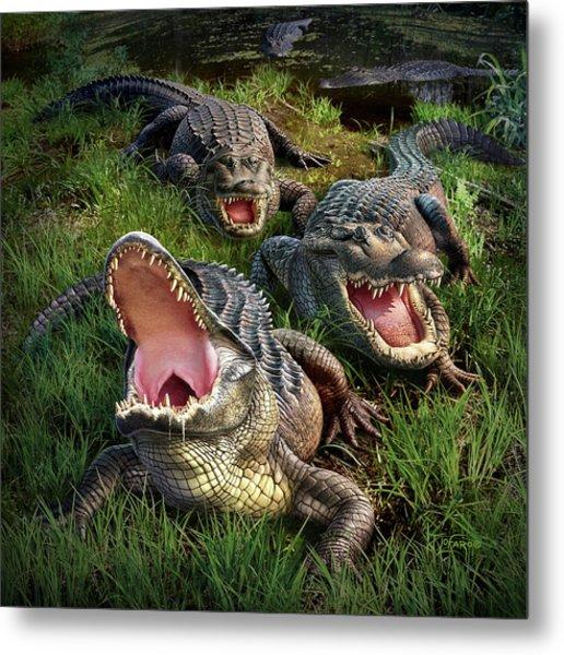 Gator Aid Metal Print