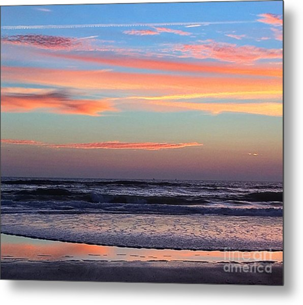 Gator Sunrise 10.31.15 Metal Print