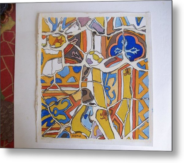 Gaudi Colors Painting By Nona Rostagno
