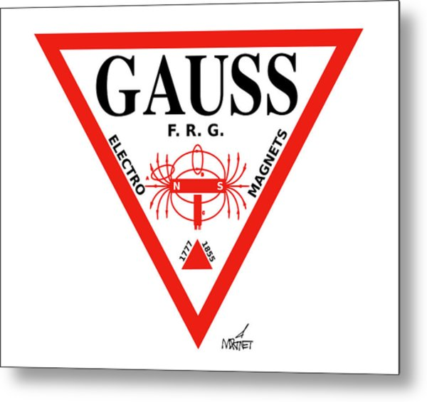 Gauss Metal Print